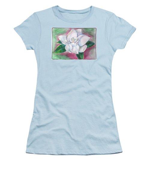 Magnolia 2 Women's T-Shirt (Junior Cut) by Loretta Nash