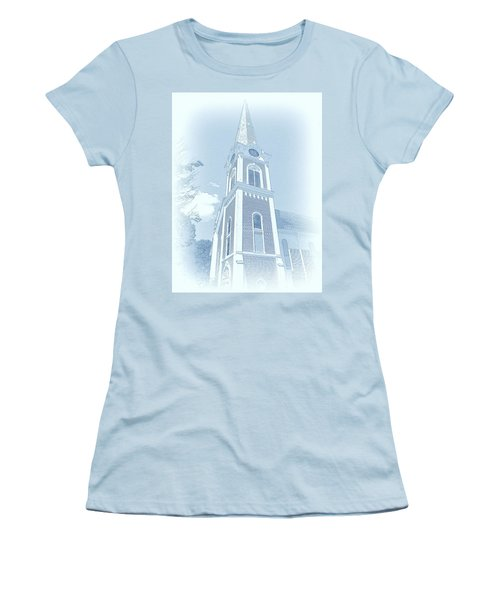 Manchester Vt Church Women's T-Shirt (Athletic Fit)