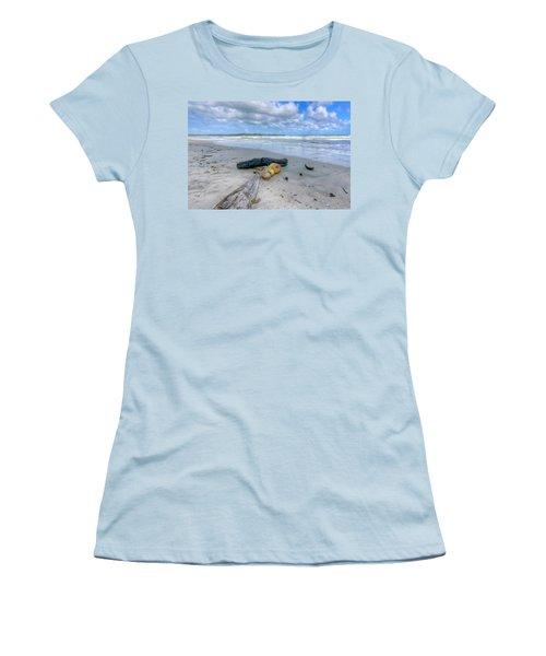 Manzanilla Beach Women's T-Shirt (Athletic Fit)