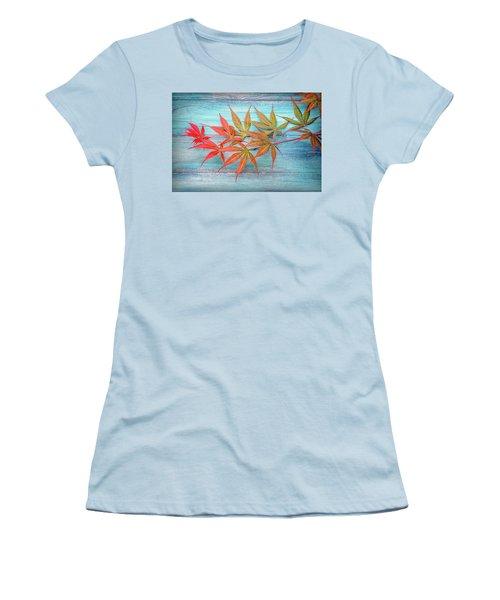 Maple Colors Women's T-Shirt (Athletic Fit)