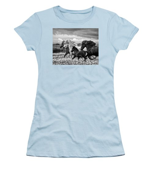March Of The Mares Women's T-Shirt (Athletic Fit)