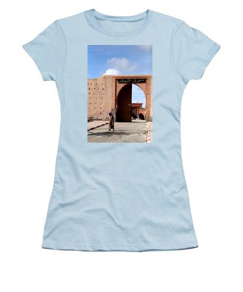 Women's T-Shirt (Junior Cut) featuring the photograph Marrakech 1 by Andrew Fare
