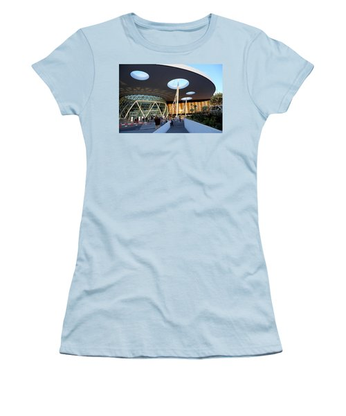Women's T-Shirt (Junior Cut) featuring the photograph Marrakech Airport 2 by Andrew Fare