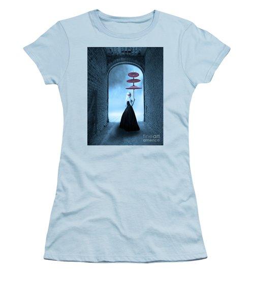 Women's T-Shirt (Junior Cut) featuring the photograph Masquerade by Juli Scalzi