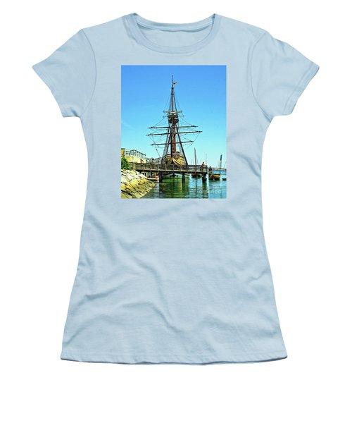 Mayflower II Women's T-Shirt (Athletic Fit)