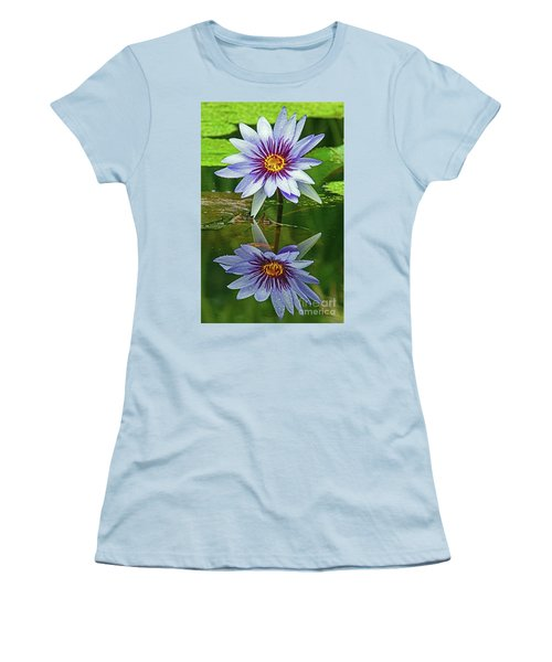 Mckee Waterlily II Women's T-Shirt (Athletic Fit)