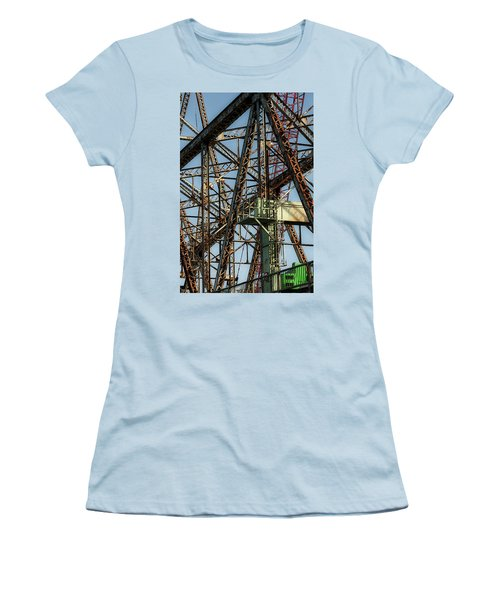 Memorial Bridge Women's T-Shirt (Athletic Fit)
