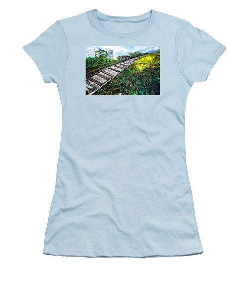 Memories Of Commonwealth Women's T-Shirt (Athletic Fit)
