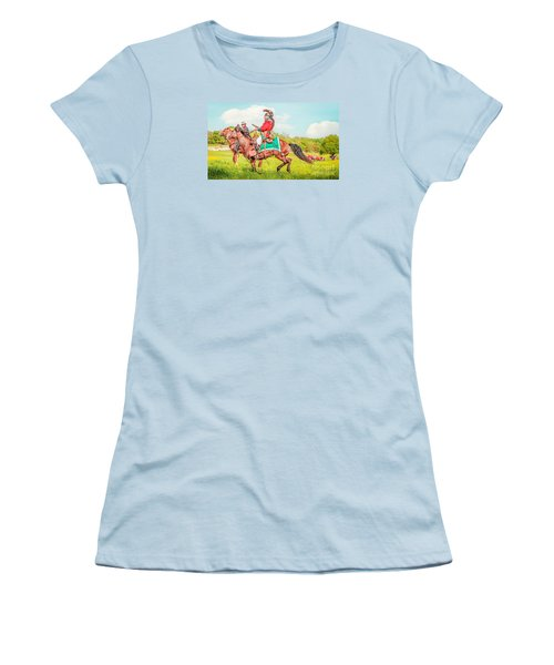 Mexican Horse Soldiers Women's T-Shirt (Athletic Fit)