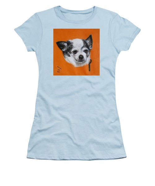 Women's T-Shirt (Junior Cut) featuring the painting Mimi by Donelli  DiMaria