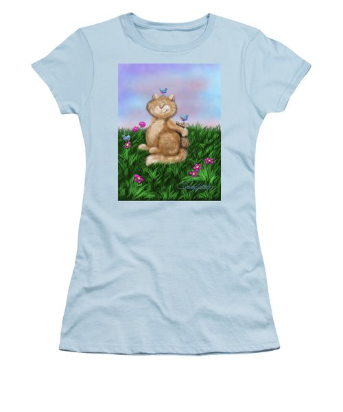 Mischief Women's T-Shirt (Junior Cut) by Dani Abbott