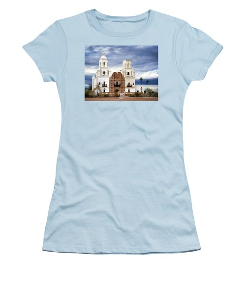 Mission San Xavier Del Bac Women's T-Shirt (Athletic Fit)