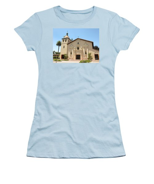 Mission Santa Clara Women's T-Shirt (Athletic Fit)