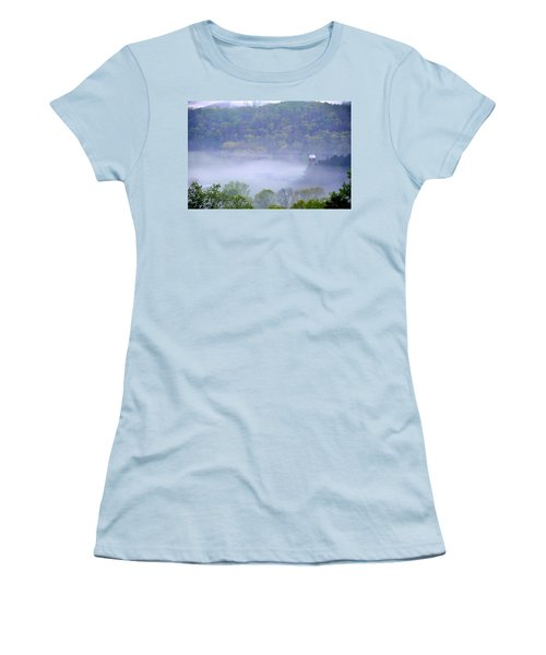 Mist In The Valley Women's T-Shirt (Athletic Fit)