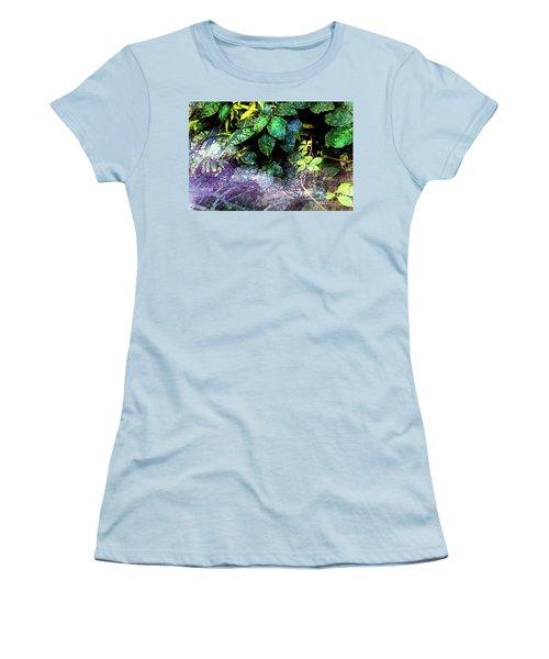Misty Branches Women's T-Shirt (Junior Cut) by Deborah Nakano