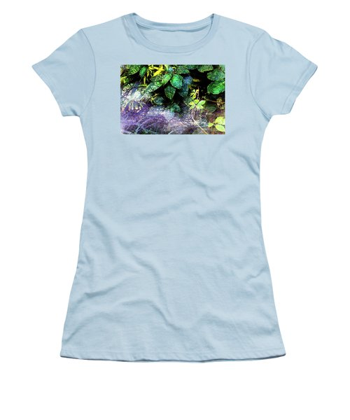 Misty Branches Women's T-Shirt (Athletic Fit)
