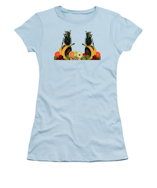 Mixed Fruits Women's T-Shirt (Junior Cut) by Shane Bechler