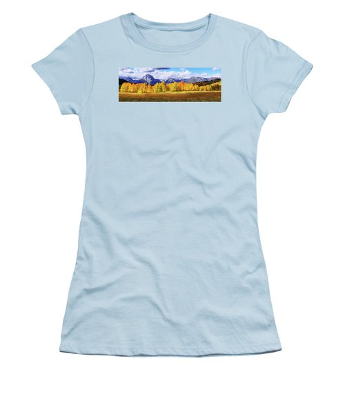 Women's T-Shirt (Junior Cut) featuring the photograph Moment by Chad Dutson