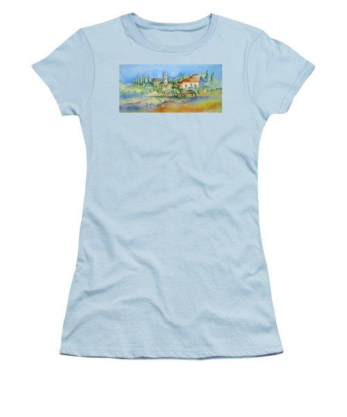 Montacatini Alto Women's T-Shirt (Athletic Fit)