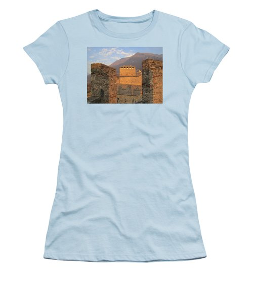 Montebello - Bellinzona, Switzerland Women's T-Shirt (Junior Cut) by Travel Pics