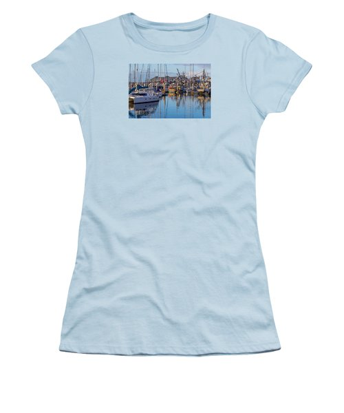 Monterey Marina Afternoon Women's T-Shirt (Athletic Fit)