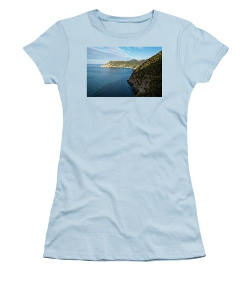 Monterosso And The Cinque Terre Coast Women's T-Shirt (Athletic Fit)