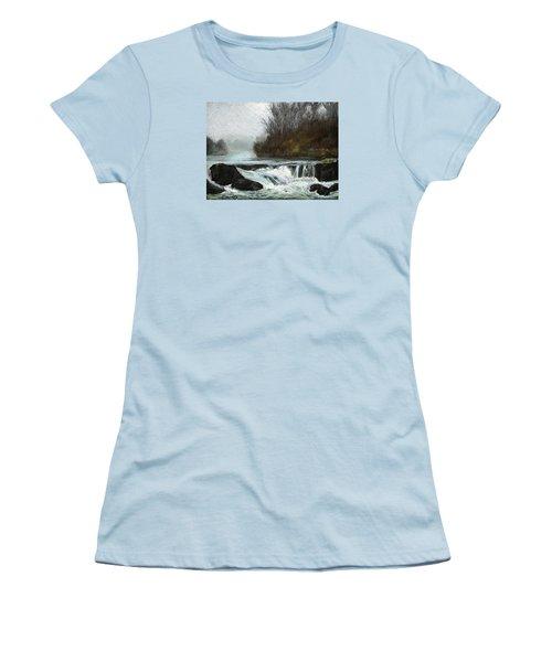 Moonlit Serenity Women's T-Shirt (Junior Cut) by Marna Edwards Flavell