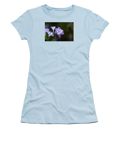Morning Bluebells Women's T-Shirt (Athletic Fit)