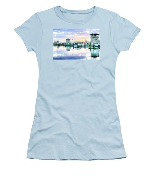 Morning Calm Women's T-Shirt (Athletic Fit)