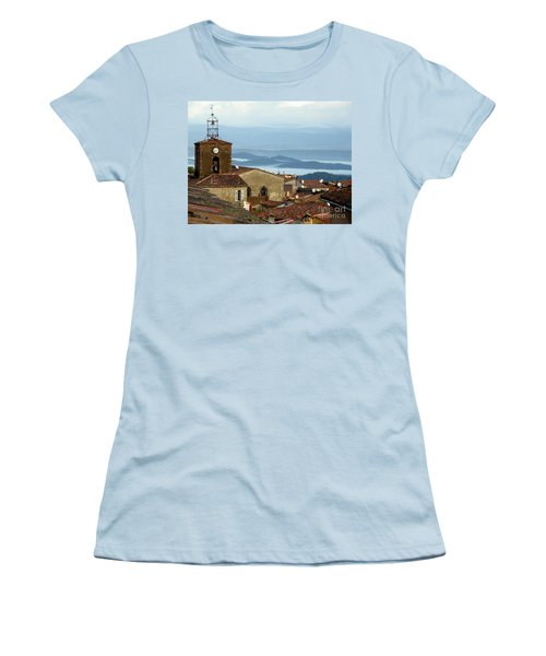 Morning Mist In Provence Women's T-Shirt (Athletic Fit)