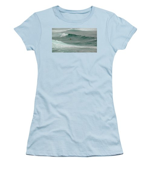 Morning Ride Women's T-Shirt (Junior Cut) by Evelyn Tambour