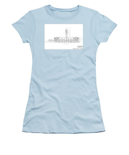 Mount Royal Station Women's T-Shirt (Athletic Fit)