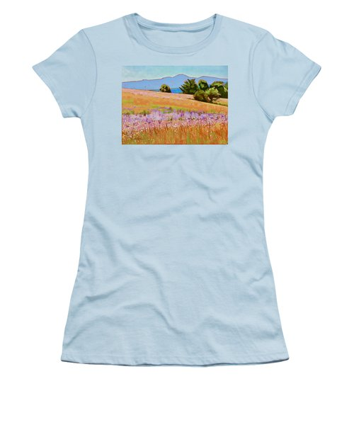Mountain Meadow Women's T-Shirt (Athletic Fit)