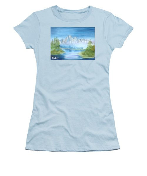 Mountain Mist Women's T-Shirt (Athletic Fit)