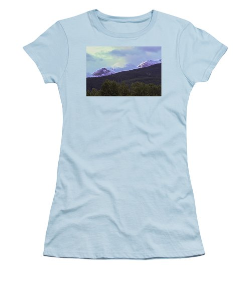 Mountain Top Women's T-Shirt (Athletic Fit)