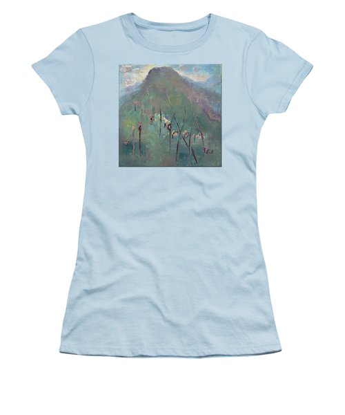 Mountain Visit Women's T-Shirt (Athletic Fit)