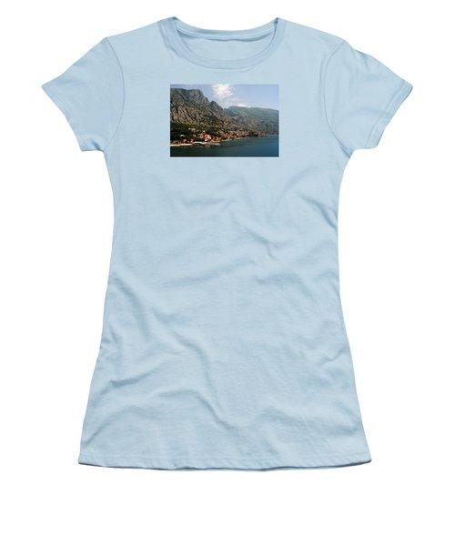 Mountains Of Montenegro Women's T-Shirt (Junior Cut) by Robert Moss