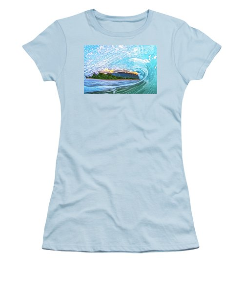 Mountains To The Sea Women's T-Shirt (Junior Cut) by James Roemmling
