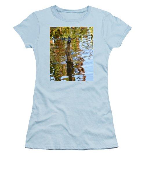 Moving On Down Women's T-Shirt (Junior Cut) by Carol Bradley