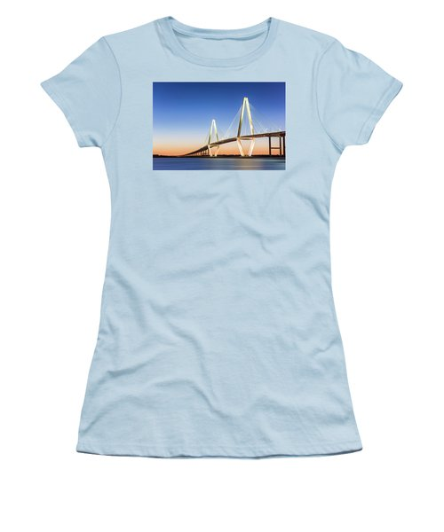 Moving Yet Still Women's T-Shirt (Athletic Fit)