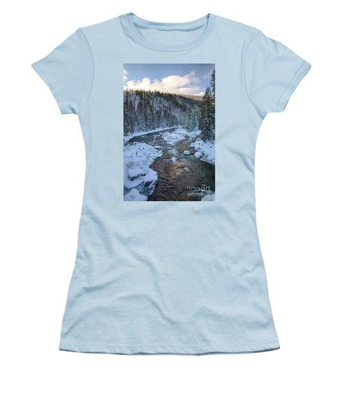 Moyie Winter Women's T-Shirt (Athletic Fit)