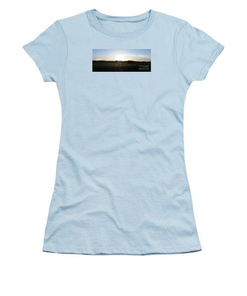 Mt. Diablo Sunset Women's T-Shirt (Athletic Fit)