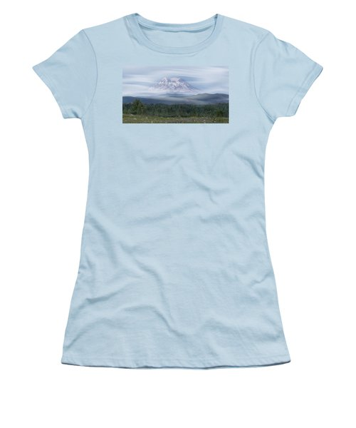 Mt. Rainier Women's T-Shirt (Athletic Fit)
