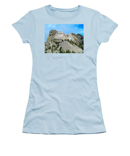 Mt Rushmore Women's T-Shirt (Athletic Fit)