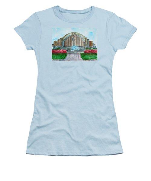 Museum Center Women's T-Shirt (Athletic Fit)