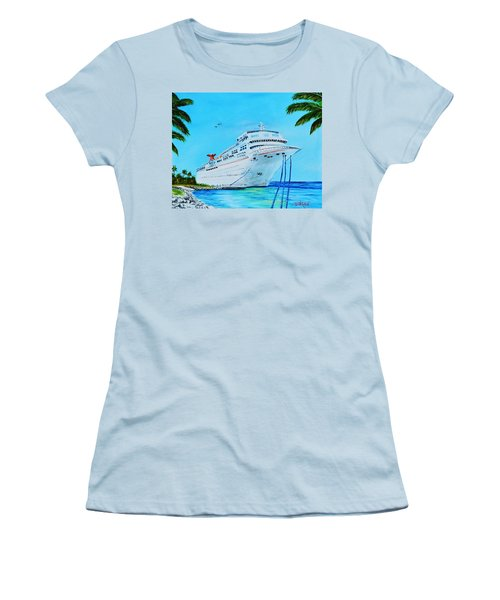 My Carnival Cruise Women's T-Shirt (Athletic Fit)