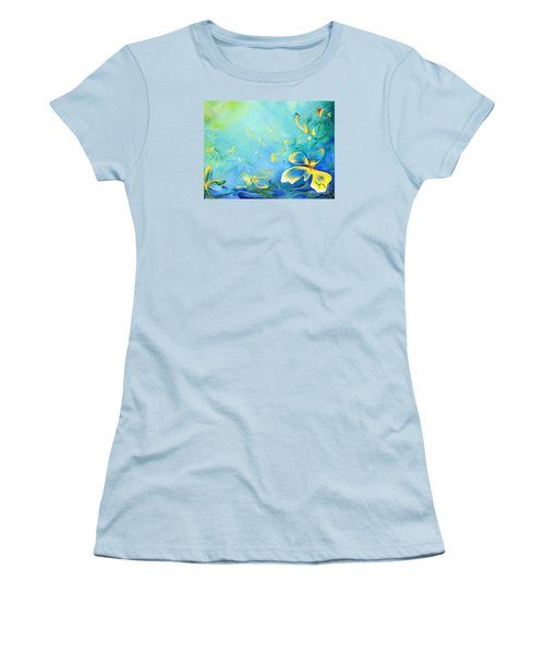My World Women's T-Shirt (Junior Cut) by Teresa Wegrzyn