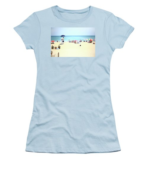 Nags Head Women's T-Shirt (Athletic Fit)