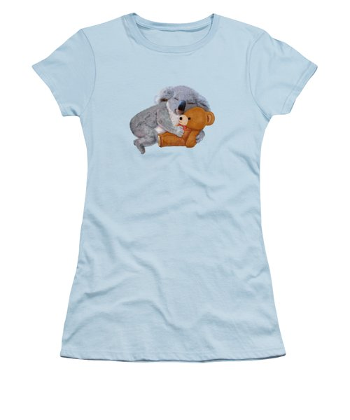 Naptime With Teddy Bear Women's T-Shirt (Athletic Fit)
