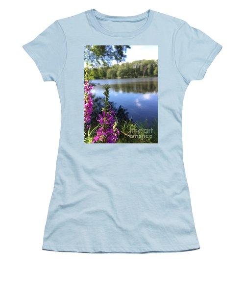 Nature Channelling  Women's T-Shirt (Junior Cut) by Jason Nicholas